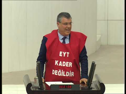 CHP ADANA MV. AYHAN BARUT- EYT KADER DEĞİLDİR. EYT'LİLER MAĞDURİYET DEĞİL MAHKUMİYET YAŞAMAKTADIR.