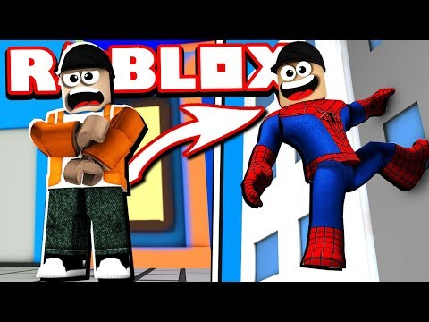 BECOMING Spiderman In ROBLOX! | Roblox Spiderman