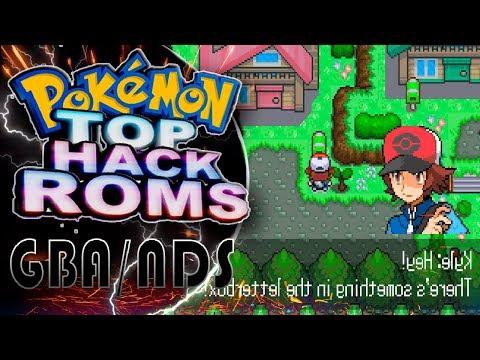 Top 5 Hack Roms Pokemon NDS/GBA 2018 - [DarkFex]