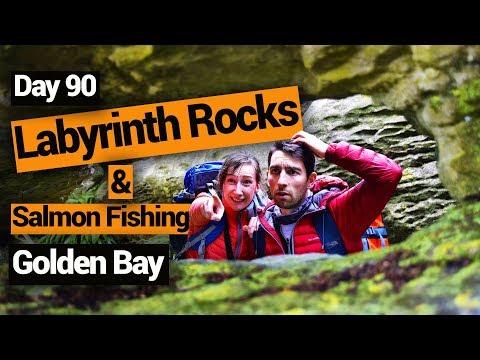 Labyrinth Rocks & Salmon Fishing in Takaka - New Zealand's Biggest Gap Year – BackpackerGuide.NZ