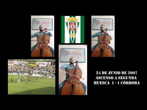 El himno del Córdoba CF a cargo de un músico blanquiverde que añora a su equipo