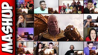 Avengers: Infinity War Official Trailer Reaction Mashup
