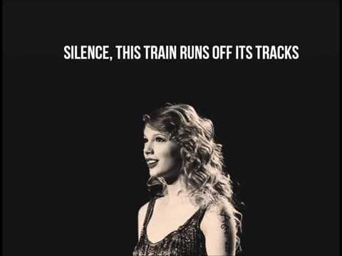 Taylor Swift - Sad Beautiful Tragic Lyrics (Not pitched)