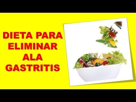 Dieta para sanar la gastritis