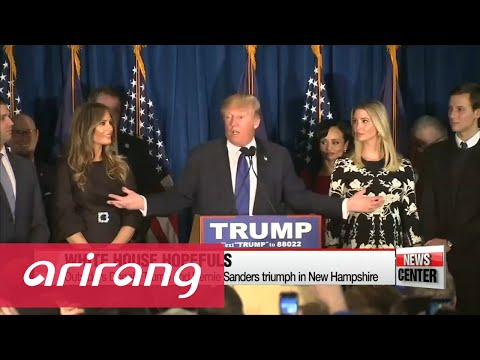 Trump, Sanders win big in New Hampshire primary