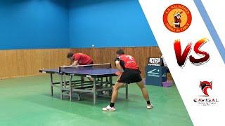 AS SALINDRES vs NICE CAVIGAL TT | NATIONALE 3 |TENNIS DE TABLE | HIGHLIGHTS
