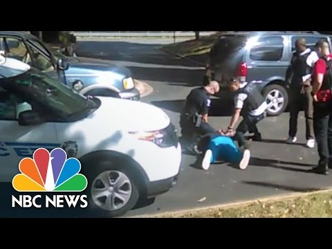 Keith Scott's Wife's Recording of Charlotte Shooting (Exclusive Video) | NBC News