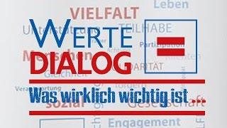 Wertedialog: Auftaktkonferenz