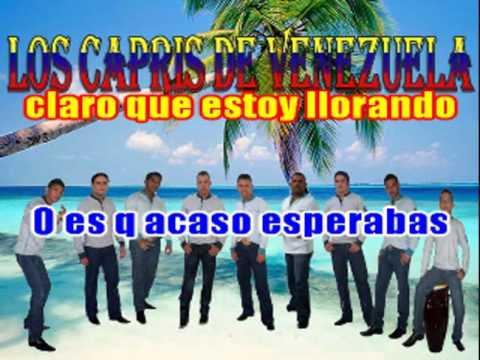 karaoke a llorar a otra parte los capris de venezuela demo