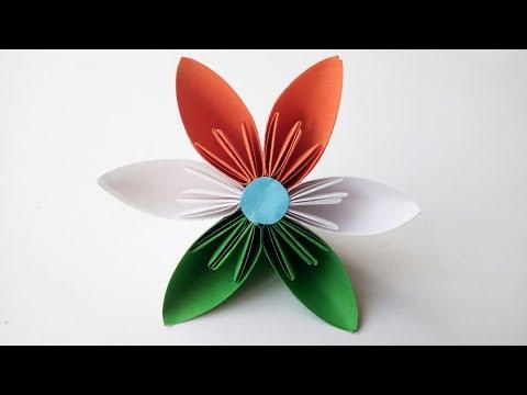 Easy #Kusudama Paper Flowers | Kusudama Flower Making | DIY Paper Craft Ideas | #paperflowers