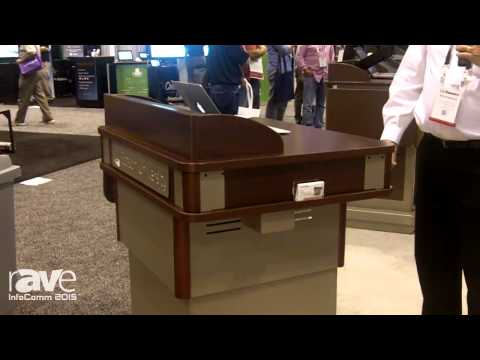InfoComm 2015: Spectrum Featurs High Tech Lecture Lecterns
