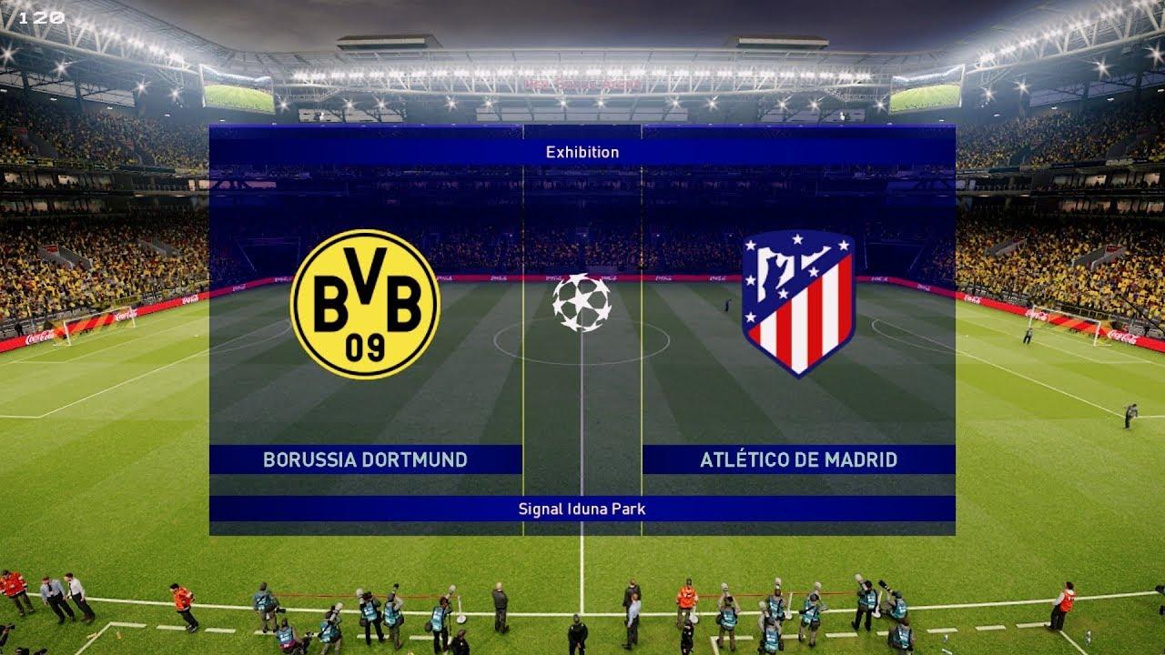 Atletico Madrid Borussia Dortmund