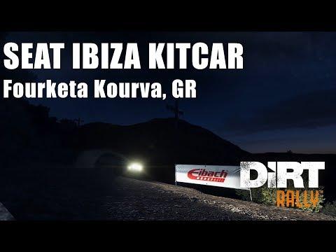 #348 DiRT RALLY - SEAT IBIZA KITCAR - Fourketa Kourva, GR