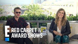 """Manifest"" Stars Josh & Melissa Play 'Pop Culture Plane Game'   E! Red Carpet & Award Shows Video"