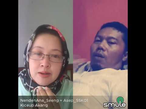 lagu pop sunda - kiceup akang (nenden seeng + asep seeng)