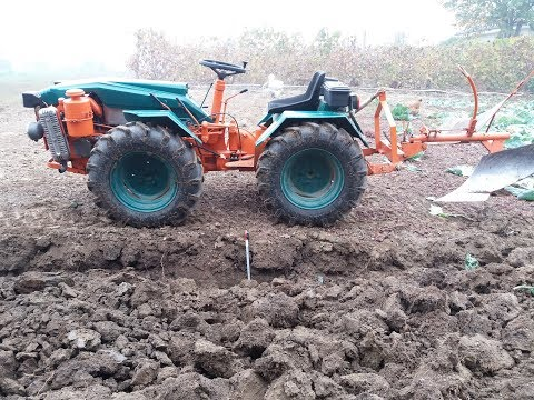 Aratura toamna 2017 - tractoras articulat Pasquali 995