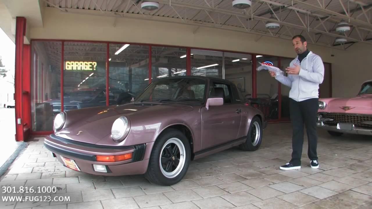 1988 Porsche 911 >> 1988 Porsche 911 Targa for sale with test drive, driving ...