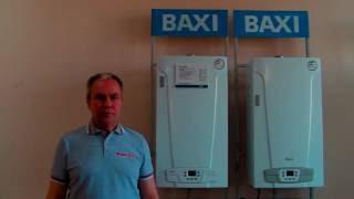 видео Котёл газовый настенный Baxi ECO-4s 10F