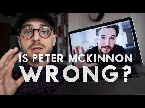 Is Peter McKinnon WRONG?