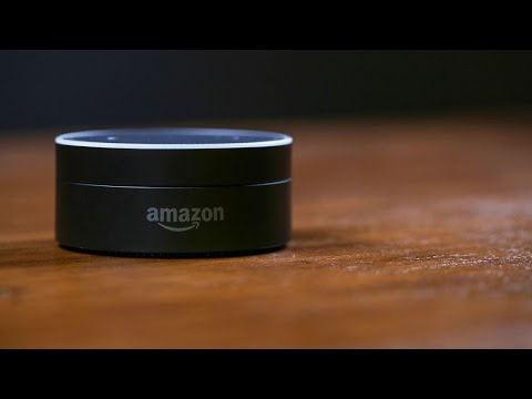 The Amazon Echo Dot is Alexa in a tiny disc