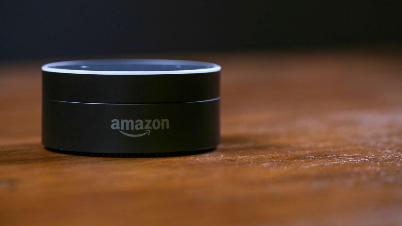 the amazon echo dot is alexa in a tiny disc   youtube