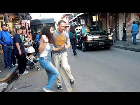 Jazz Street Dancing - French Quarter Fest 2017 New Orleans