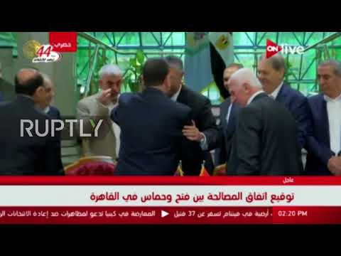 Egypt: Hamas and Fatah sign reconciliation agreement in Cairo