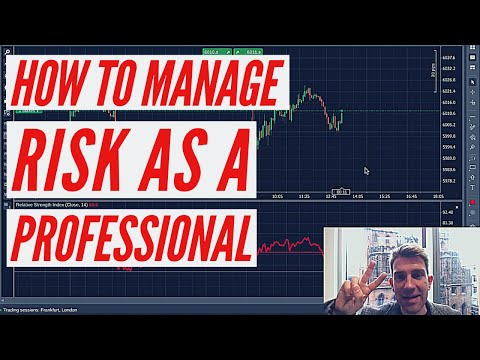 3 Ways to Manage Risk as a Professional Trader 👍