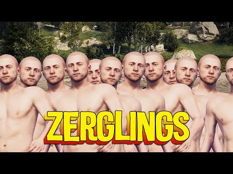 A Rust zerg takes over an island thumbnail