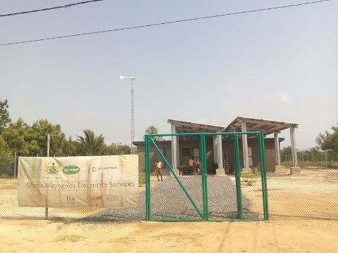 Ghana Solar PV Mini Grids executed by Trama TecnoAmbiental