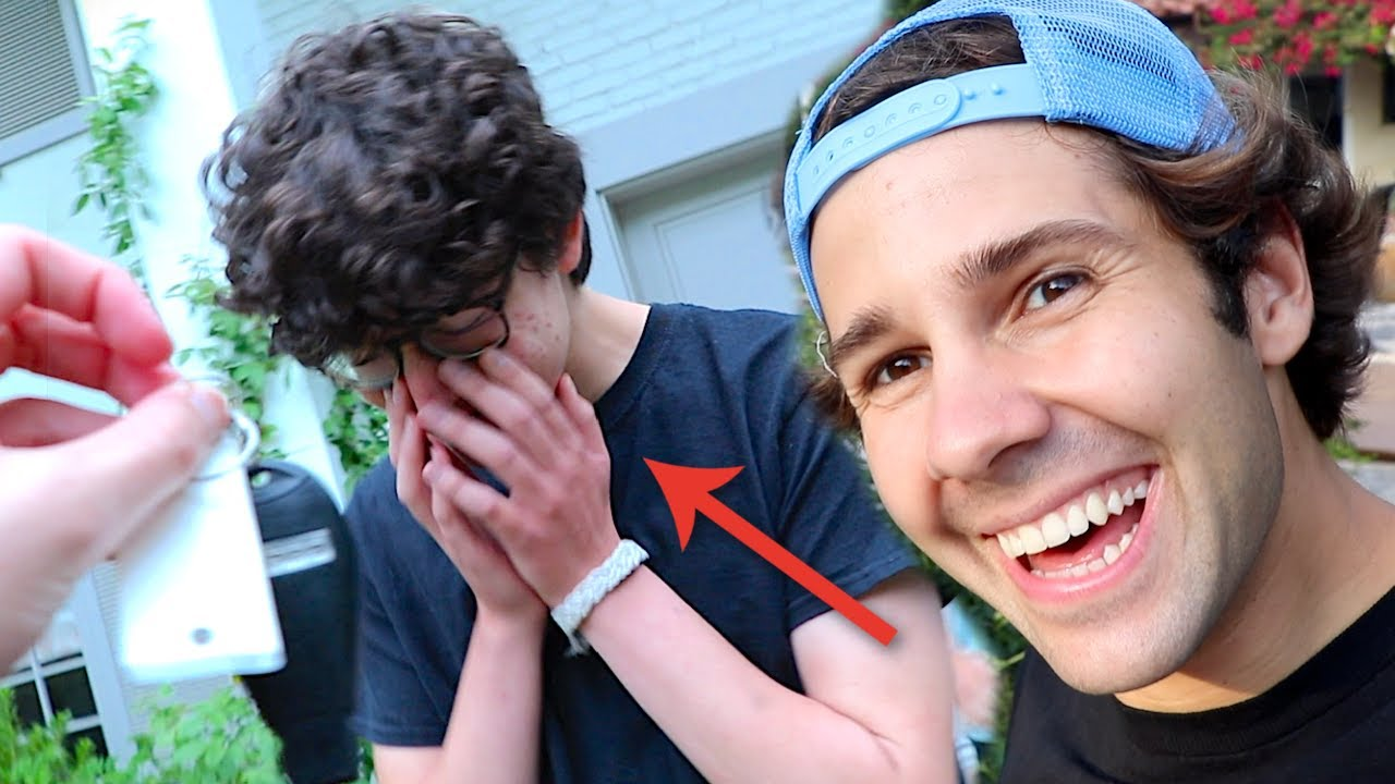 SURPRISING SON WITH DREAM CAR!