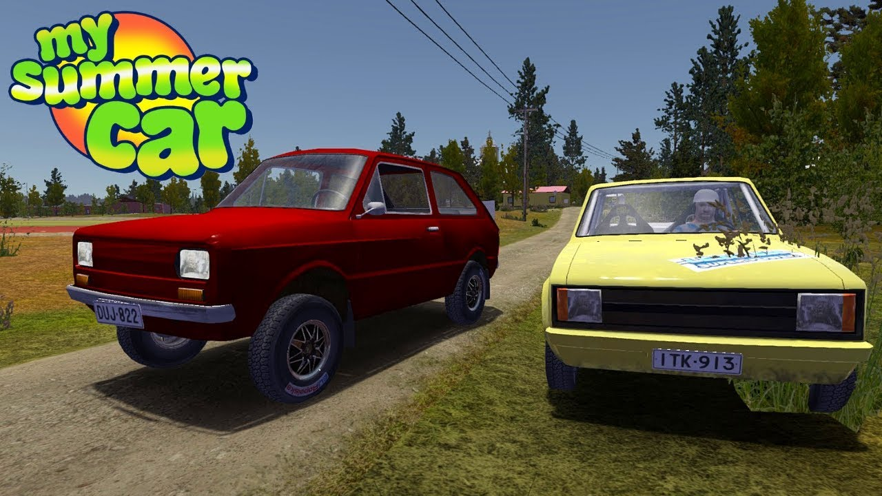 Rally Fittan Smart Police My Summer Car Story 93 Radex