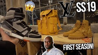 IN-STORE VIRGIL ABLOH x LOUIS VUITTON SS19 COLLABORATION! | MORE LIMITED THAN SUPREME! | LV AIRPODS