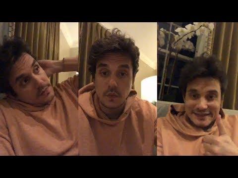 John Mayer || Instagram Full Live Stream |  23 April 2018