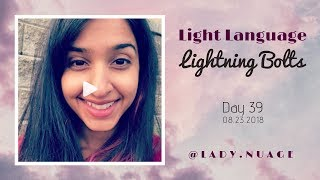 Light Language - Lady Nuage - Lightning Bolt #39