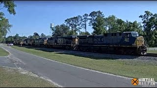 Folkston, Georgia USA   Cam of the Week - Virtual Railfan LIVE