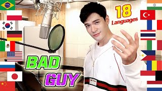 bad guy (Billie Eilish) 1 Guy Singing in 18 Different Languages - Cover by Travys Kim