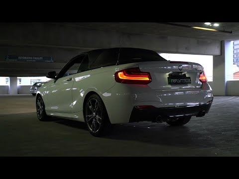 bmw f22 m240i armytrix exhaust mods tuning review price. Black Bedroom Furniture Sets. Home Design Ideas