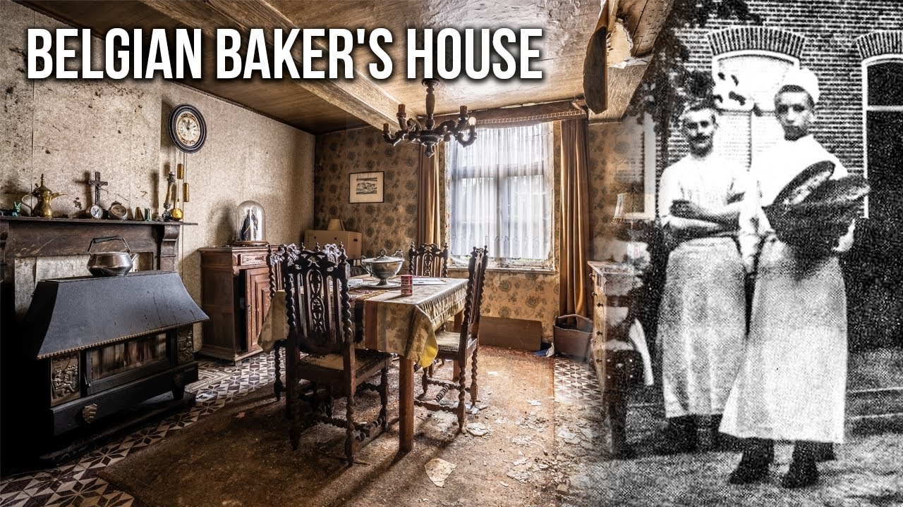 Download Traditional ABANDONED Country House of a Belgian Baker's Family