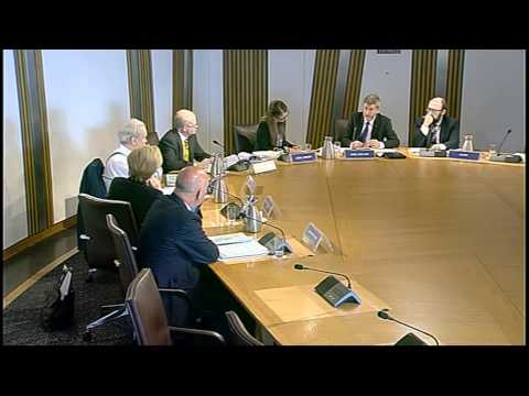 Delegated Powers and Law Reform Committee - Scottish Parliament: 9th June 2015