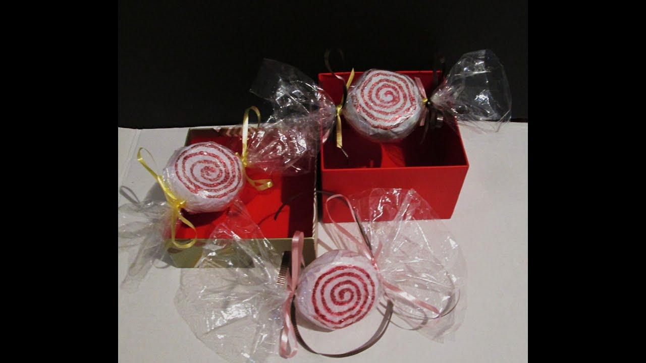 Diy dulces de menta para navidad hecho con botellas for Adornos navidenos hechos con botellas plasticas