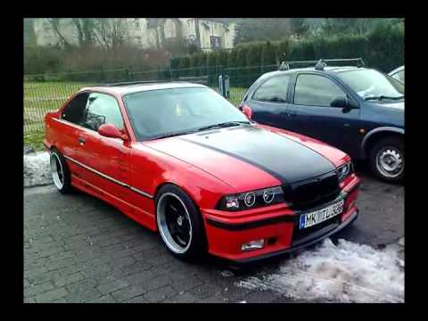 bmw 320i coupe tuning red black youtube. Black Bedroom Furniture Sets. Home Design Ideas