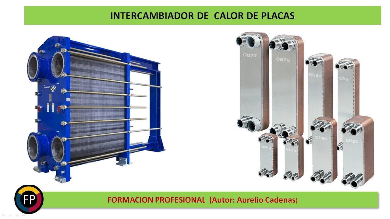 Clase 115: Intercambiadores de calor de placas - YouTube