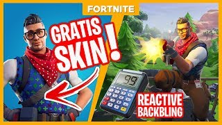 HOW TO GET THE NEW FREE CHRISTMAS SKIN!! -Fortnite