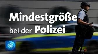 Gericht bestätigt Mindestgröße für Polizisten