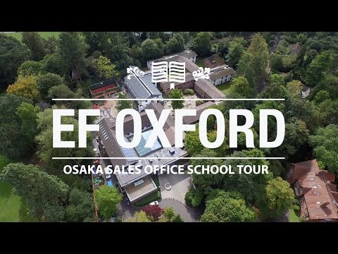 EF Language Schools Oxford school tour for Osaka Sales Office