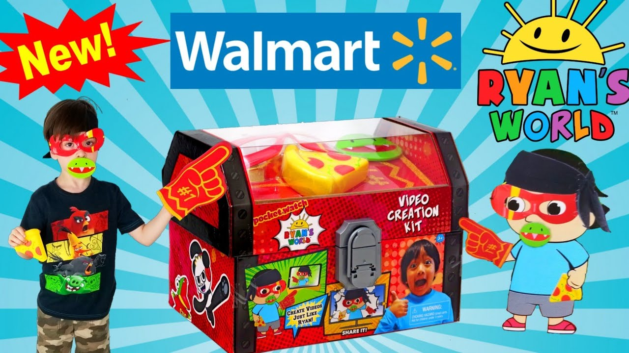 Is This The Worst Ryans World Toy at Walmart? - NEW Video Creation Kit Review