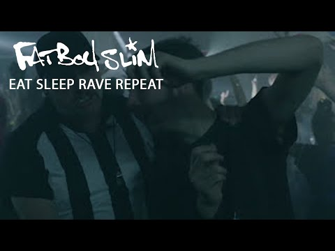 Fatboy Slim, Riva Starr & Beardyman - Eat Sleep Rave Repeat (Calvin Harris Remix) [Official Video]