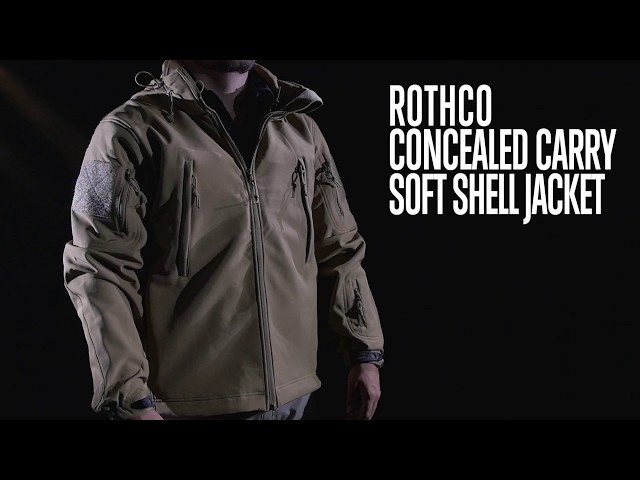 Concealed Carry Soft Shell Jacket  - Rothco Product Breakdown