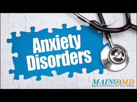 Anxiety Disorders ¦ Treatment And Symptoms